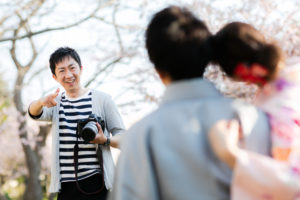 Photographer for couple and family in Hokkaido