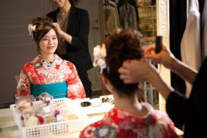 Hair set for Kimono