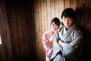 kimono photo in hokkaido