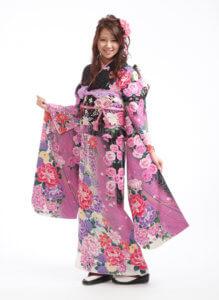 サクリナ 黒×ピンク
